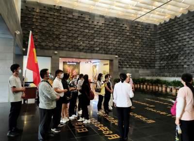 章凤镇青年人才党支部红色主题党日活动