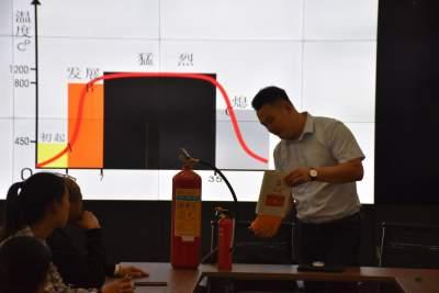 陇川县融媒体中心消防安全知识培训