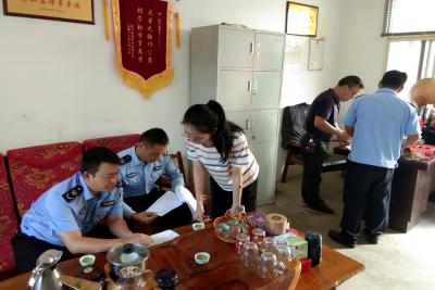 陇川县林业和草原局到木材经营加工企业开展综合执法检查