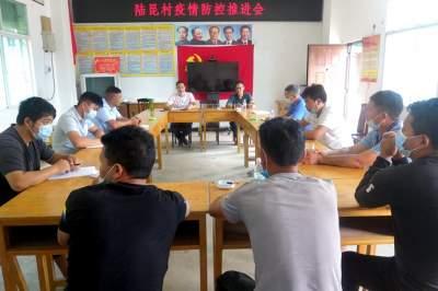 清平乡陆昆村:疫情防控与爱国卫生运动双推进