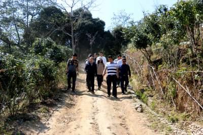 副州长冯皓到勐约乡调研指导重点旅游项目建设情况