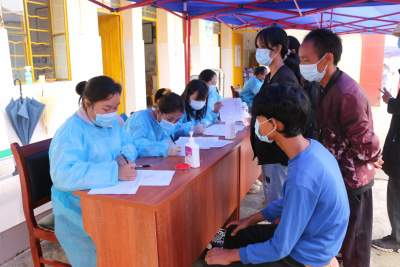 【我为群众办实事】护国乡15至17周岁人群集中接种新冠疫苗