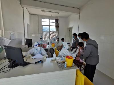 学史力行   清平乡持续开展助力新冠疫苗接种志愿服务活动