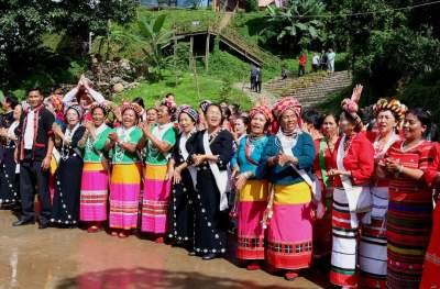 看!阿佤人民的幸福新生活