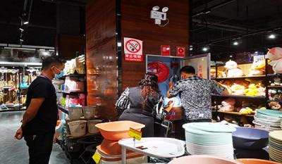 陇川县工业和商务科技局开展城区超市病媒生物防制和清洁卫生情况工作检查