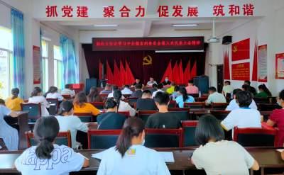 勐约乡召开专题会议传达学习州第八次党代会精神