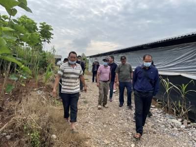 学史力行  护国乡组织群众到陇把镇参观学习种桑养蚕管理技术