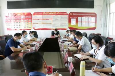 县领导到章凤镇调研疫情防控和边境管控工作
