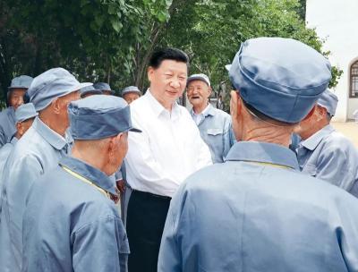 习近平:党的伟大精神永远是党和国家的宝贵精神财富