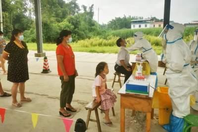 学史力行  拉勐村:学党史办实事  筑牢疫情防控网