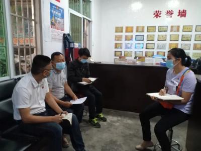 章凤镇全员上阵,广泛调动党员群众参与疫情防控