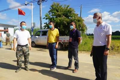 朱文科到边境督查疫情防控为COP15召开提供安全稳固边境环境