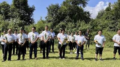 学史力行 |2021年国庆,清平乡这样为祖国庆祝