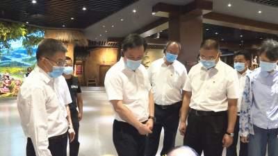 副省长刘洪建到丘北调研旅游业发展工作