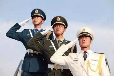 致敬!中国人民解放军