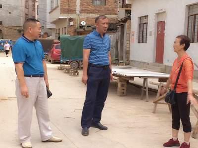 陈宏专题调研城区爱国卫生专项行动整治工作
