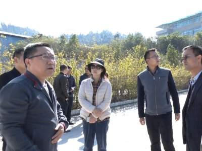 省水利厅专家组对丘北县县域节水型社会达标建设进行评估验收