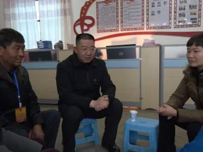 """秦文波到双龙营镇调研村""""两委""""换届选举等工作"""