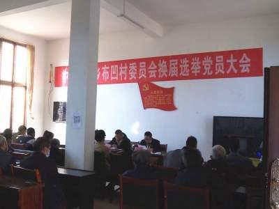 """丘北平寨乡布凹村""""两委""""换届党组织选举工作顺利完成"""