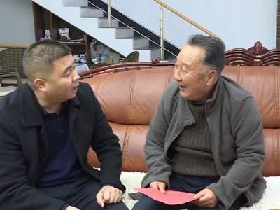 王树乾、陈选俊、杨文才开展春节慰问活动