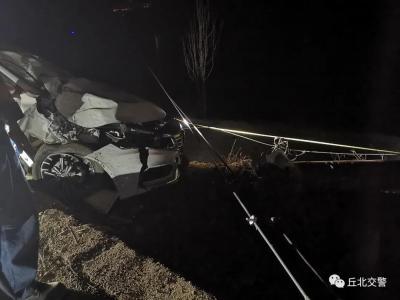 路况信息丨丘广公路发生事故无法通行 预计下午1点恢复!