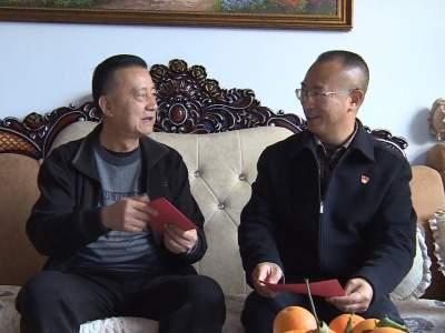 赵敏建看望慰问副处级以上退休老干部