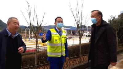 陈宏、李明洪开展春节走访慰问活动