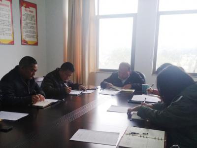 县委史志办学习传达丘北县2021年宣传思想工作会议精神