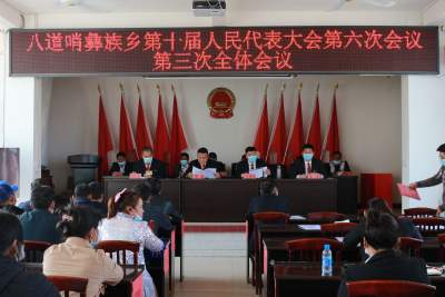 丘北八道哨彝族乡:第十届人民代表大会第六次会议闭幕