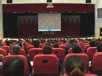 丘北召开政法队伍教育整顿学习教育专题党课