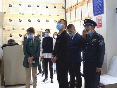 省文化和旅游厅到丘北县检查安全生产等工作情况