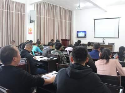 丘北县参加省应急厅卫星电话使用管理培训会