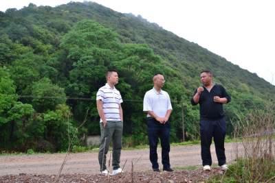赵敏建到天星乡调研产业发展和人居环境提升工作