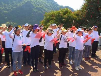 丘北县水务局支部主题党日聚焦保护普者黑湖