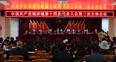 中国共产党锦屏镇第十四次代表大会胜利闭幕