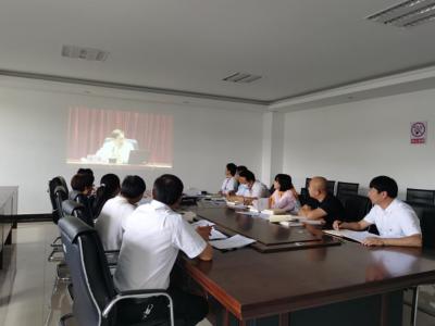 """丘北县政务服务管理局组织收看""""文山大讲堂""""专题讲座"""