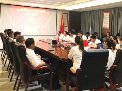 政企共建促发展  党建引领聚合力丨丘北县成立首个政企党建联盟