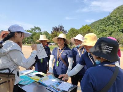 丘北县文化和旅游局开展旅游日志愿服务活动