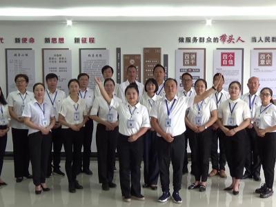 丘北县政务服务管理局开展迎建党百年诗歌朗诵活动