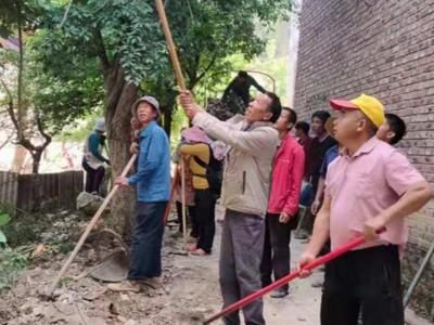 丘北县树皮乡着力打造示点引领农村人居环境整治