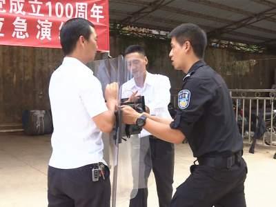 丘北县开展迎接建党100周年广播电视安全播出应急演练