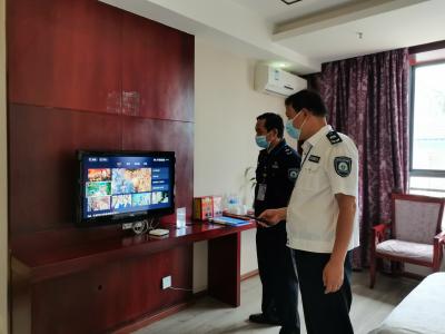 丘北县开展非法地面卫星接收设施专项整治行动
