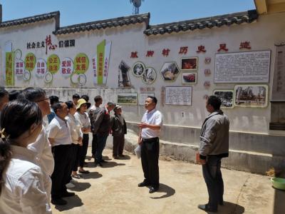丘北县委县直机关工委开展新时代文明实践活动