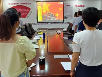 丘北县扶贫局党支部创新载体学党史 献礼建党百年