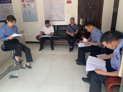 丘北县人民检察院开展政法队伍教育整顿专项检查
