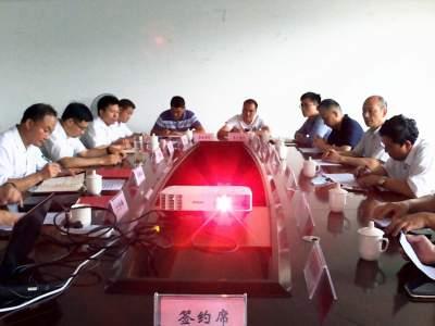 上海市虹口区代表团与丘北县签订街镇结对帮扶协议