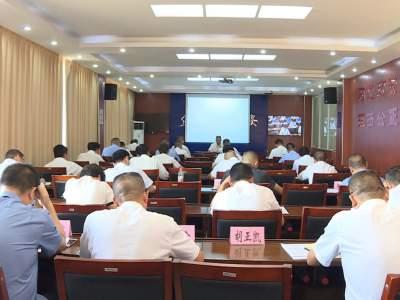 """丘北县组织参加文山州防止干预司法""""三个规定""""宣讲会"""