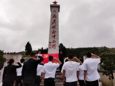 丘北县新店乡开展党史学习教育现场教学