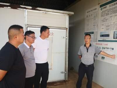 赵敏建到树皮乡调研产业发展和人居环境工作推进情况