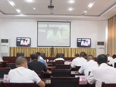 丘北县组织参加全州创建国家卫生城镇工作视频调度会